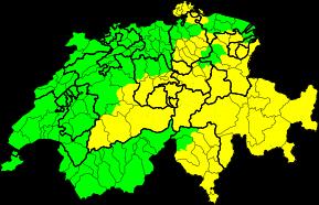 Aktuelle Unwetterwarnungen | Schweiz